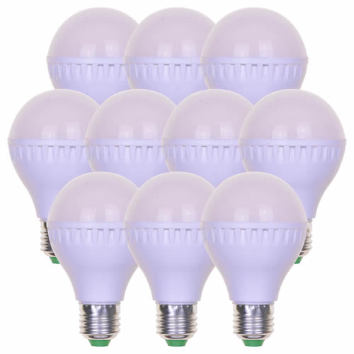 PVC Cables LED7WES-PK10 7w LED Lamp For Festoon - Edison Screw Fitting (Pack Of 10)