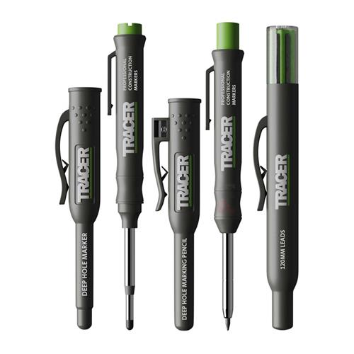 Tracer Complete Marking Kit - Pen, Pencil and Leads with Holsters