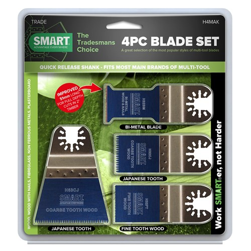 Smart H4MAK Trade 4 Piece Blade Set