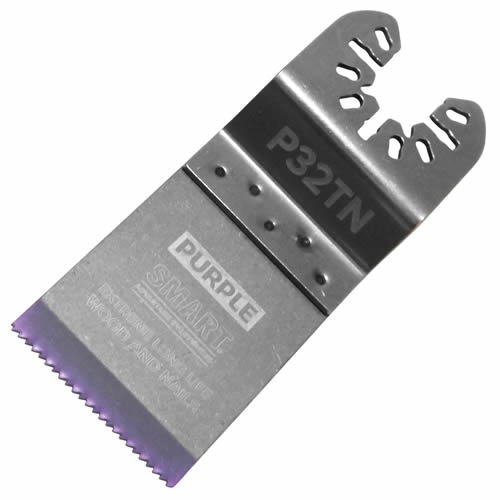Smart P32TN Smart Purple Series 32mm Titanium Alloy Bi-Metal Blade Pack of 10