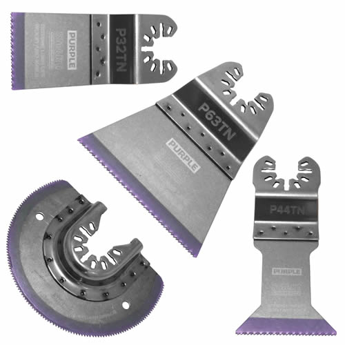 Smart P4MAX Smart Purple Series 4 Piece Blade Set