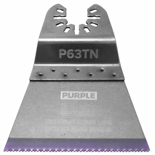 Smart P63TN Smart Purple Series 63mm Titanium Alloy Bi-Metal Blade Pack of 3