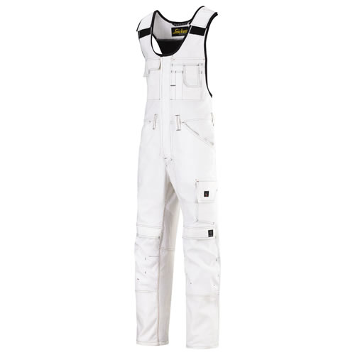 Snickers 03750909 Snickers Painters Coveralls (White)