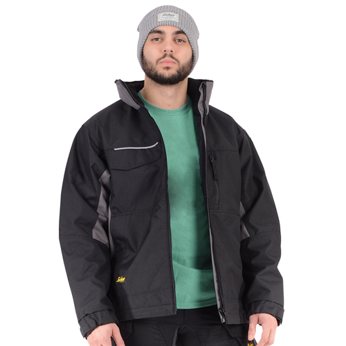 Rip-Stop Winter Jacket (Black)