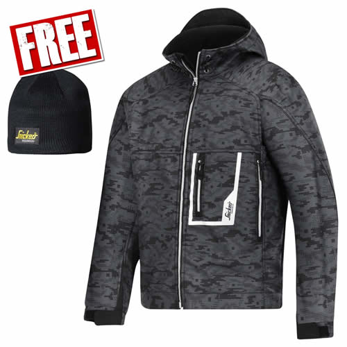 Snickers 12195804 Snickers Soft Shell Flexguard Jacket