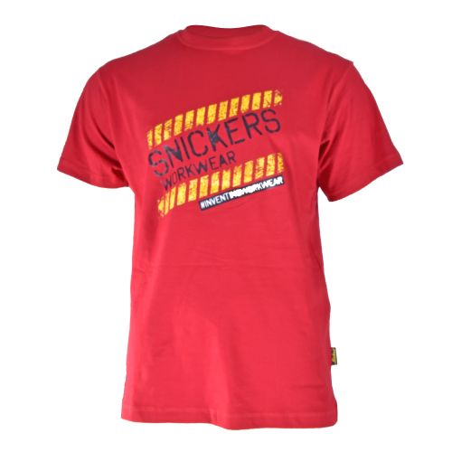 Classic T-Shirt with Design - Red
