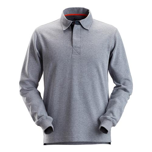 Snickers AllroundWork Rugby Shirt - Steel Grey