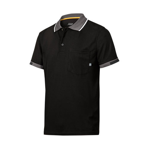 Snickers AllroundWork 37.5 Tech Polo Shirt (Black)