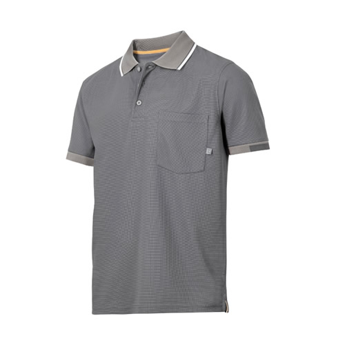 Snickers 27240400 Snickers AllroundWork 37.5 Tech Polo Shirt (Grey)