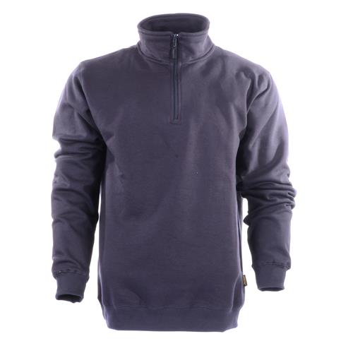 Snickers 1/2 Zip Sweatshirt - Grey