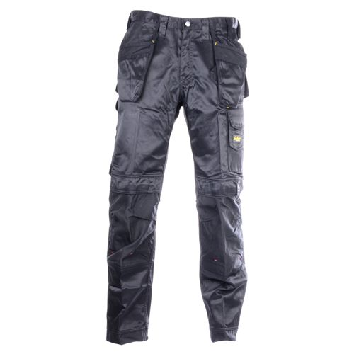 DuraTwill Trousers With Holster Pockets - Black