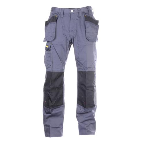 Snickers 32515804 Craftsman DuraTwill Trousers & Holster Pockets - Grey