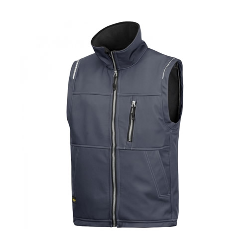 Snickers 45115800 Snickers Profiling Soft Shell Vest (Steel Grey)