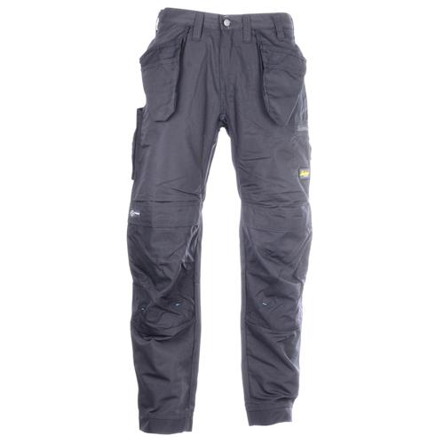 Snickers Litework Trousers With Holster Pockets - Black