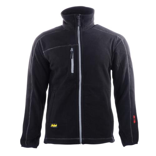Snickers 80120400 Snickers AIS Fleece Jacket (Black)