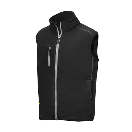 Snickers 80140400 Snickers AIS Fleece Vest (Black)