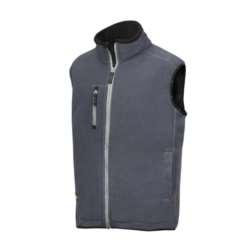 Snickers 80145800 Snickers AIS Fleece Vest (Steel Grey)
