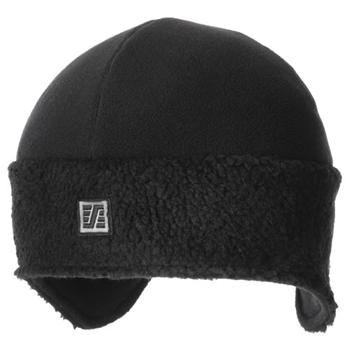 Snickers 90900400007 Snickers Black Pile Fleece Beanie (One Size)