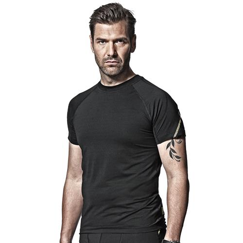 Snickers 94050400 Snickers First Layer T-Shirt (Black)