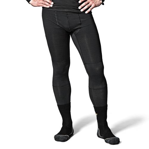 First Layer Long Johns (Black) Extra Large (39'' - 44'')