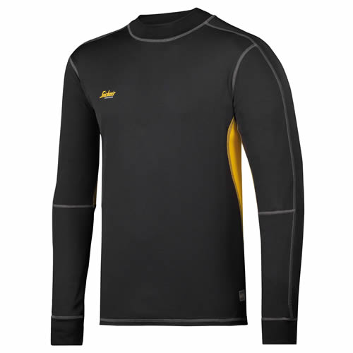 Snickers 94210426 Snickers 37.5 Long Sleeve T-Shirt (Black)