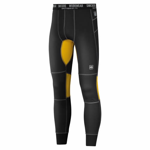 Snickers 94230426 Snickers 37.5 First Layer Long Johns (Black)