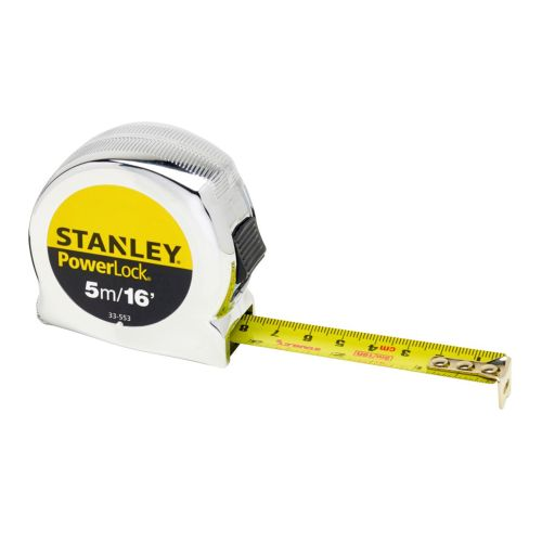Stanley 0-33-553 Stanley Powerlock Tape 5m/16ft