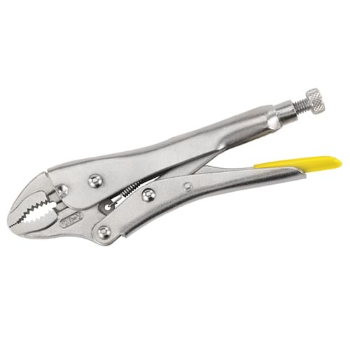 Stanley 084808 Curved Jaw Locking Pliers 185mm