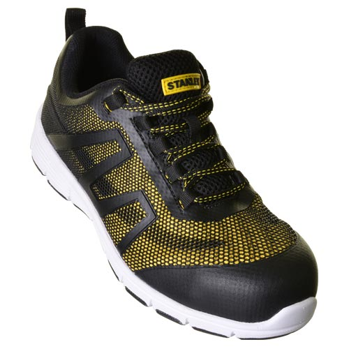 Stanley 10019158 Stanley Harlem Safety Trainer (Black/Yellow)