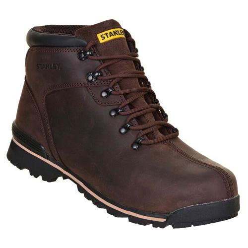 Stanley 10026104 Stanley Boston Safety Boots (Brown)