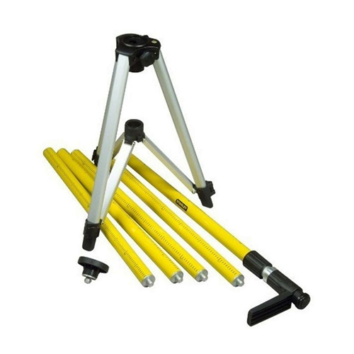 Stanley 177022 Laser Extension Pole 3.6m With Tri-Legs - 1/4''