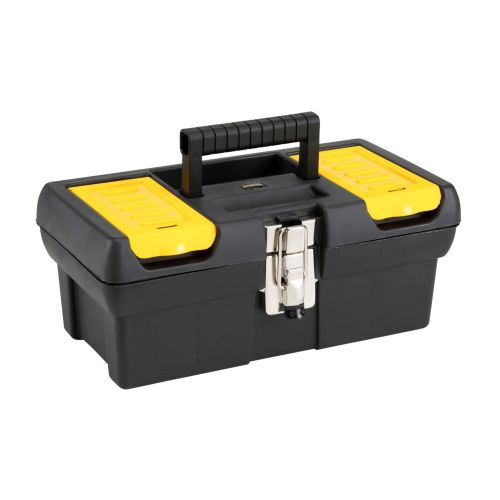 Stanley 1-92-064 12.5'' 2000 Series Plastic Toolbox with Metal Latch