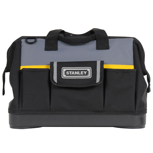 "Stanley 1-96-183 Stanley 16"" Open Mouth Tool Bag"