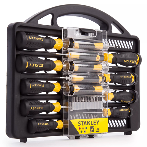 Stanley STHT062141 34 Piece Screwdriver Set with Bits