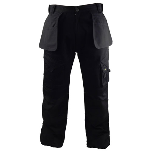 Stanley SXWG106EBK Stanley Colorado Heavy Duty Work Trouser - Black