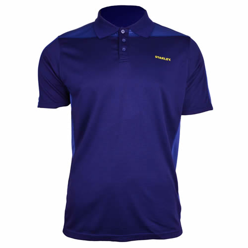 Stanley SXWG158EBL Stanley Cool DRY Polo Shirt - Navy/Blue