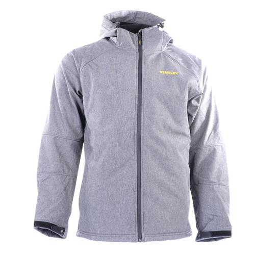 Stanley Gilbert Soft Shell Hooded Jacket - Grey