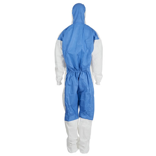3M 4535 Type 5/6 Protective Coveralls (Blue/White)