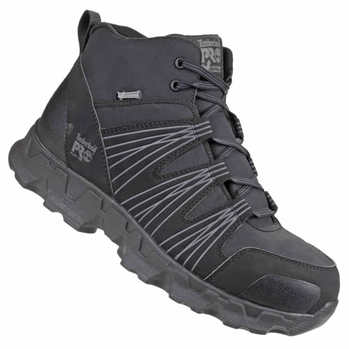 PowerTrain Mid-Height Safety Boots (Black) Size 7
