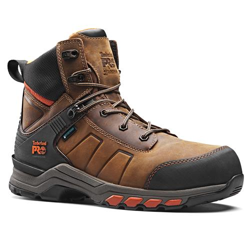 Hypercharge Leather Boot - Brown/Orange