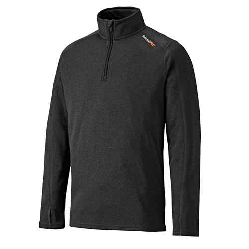 1/4 Zip Fleece - Dark Charcol
