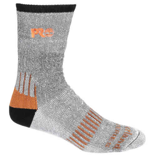 Timberland Pro TPS31412 Timberland Pro Cool Socks (Grey/Black) Pack of Two