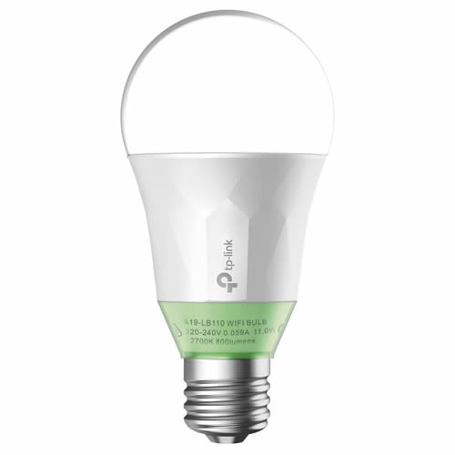 TP-Link LB110 Smart Wi-Fi LED Bulb with Dimmable White Light
