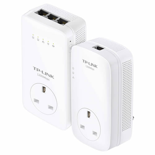 TP-Link TL-WPA8630PKIT 1200mbps Powerline with AC1200 Wi-Fi