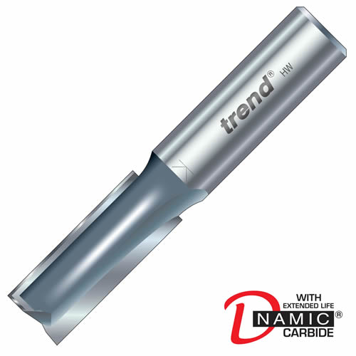 Trend 3/82 Trend PRO TCT Two Flute Straight Cutter (12.7mm)