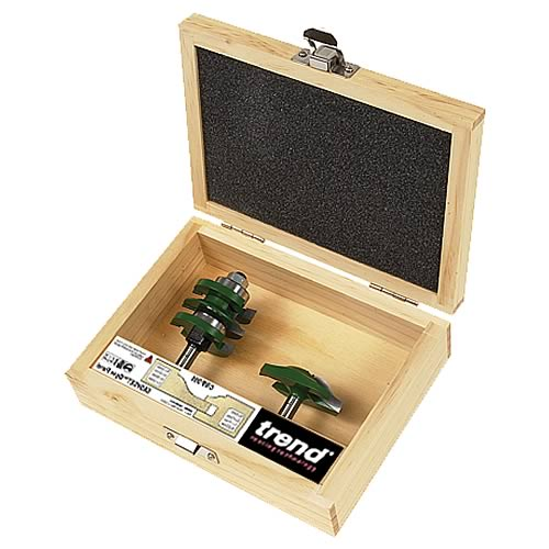 Trend CR/PDS1 Trend Craft Pro Panel Door Making Router Cutter Set