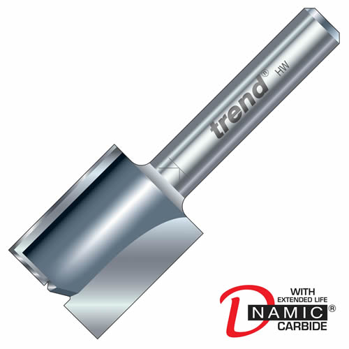 Trend 3/08 Trend PRO TCT Two Flute Straight Cutter (12.7mm)
