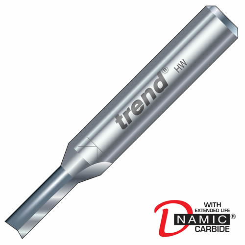 Trend 3/1 Trend PRO TCT Two Flute Straight Cutter (5mm)