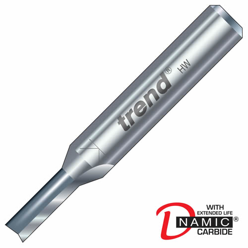 Trend 3/10 Trend PRO TCT Two Flute Straight Cutter (3.2mm)