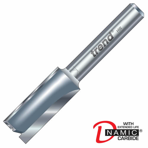 Trend 3/5 Trend PRO TCT Two Flute Straight Cutter (9mm)